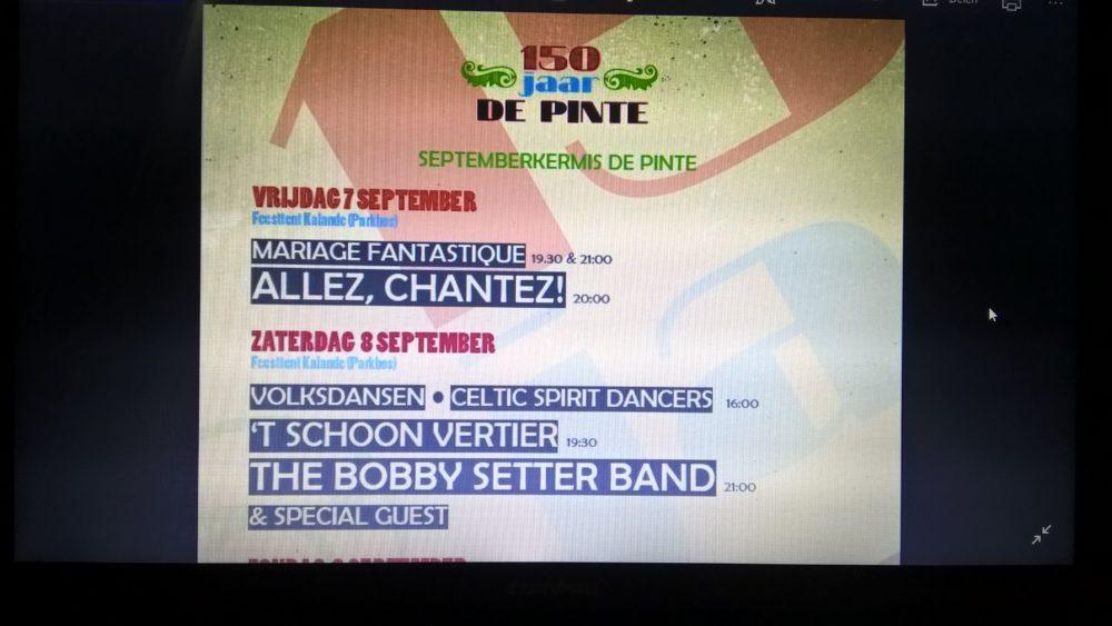 YouTube clips van de Bobby Setter Band